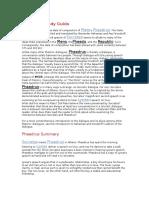 Phaedrus Study Guide