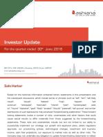 Investor Updates [Company Update]