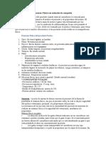 Informe (Examen clínico en animales de compañía)