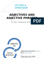 3.Adjectives and Adjective Phrases