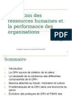 GRH Et Performance