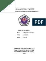 242197136 Makalah Etika Profesi Dalam Bidang Teknik Komputer PDF