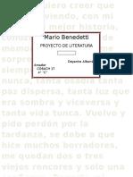 Mario Benedetti LITERATURA