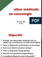 Observation en Neurologie 2013