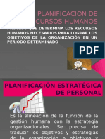 Planificación estratégica de personal