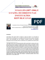 Alberto Salles e a Concepção Do Direito