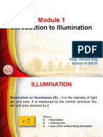 Illumination Module 1