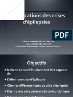 Classification Des Crises d'Épilepsie