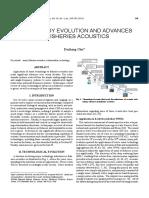 Chu 2011 Tech Evolution Fisheries Acoustics