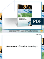 Assesment in Student Learning-1 Ch2