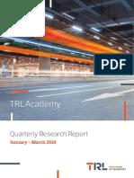 TRL Q Research Jan Mar 2016