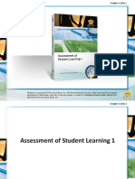 Assesment in Student Learning-1 Ch1