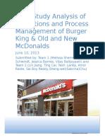Burger King vs McDonalds Final Paper (1)