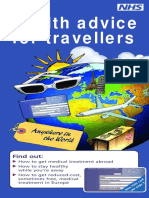 Health Advice for Travellers