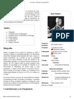 Karl Jaspers - Wikipedia, La Enciclopedia Libre