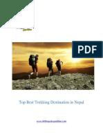 Top Best Trekking Destination & Holiday in Nepal