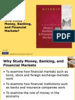 Chap 1 Economics of Money and Banking
