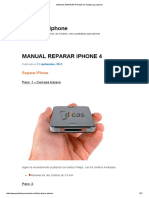 Manual Reparar iPhone 4 _ Pantalla Para iPhone