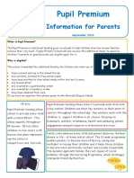 Newsletter to Pasrents
