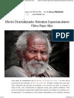 Filtro Paso Alto con Photoshop