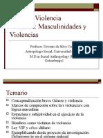 Clase Modulo Violencia y Masculinidades