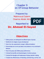 Fundation of Group Behavior