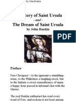 Story and Dream of Saint Ursula, By John Ruskin
