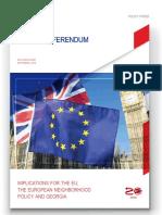 The UK Referendum