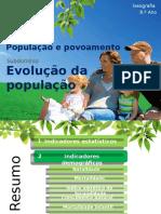 1 - Demografia e Indicadores Demográficos