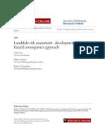 Landslide Risk Assessment 123456