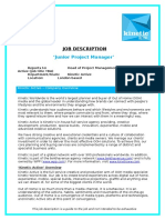 JD Junior Project Manager May 16 Final