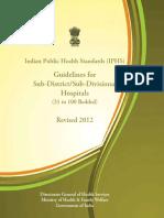 Sub District Sub Divisional Hospital