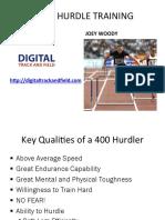 Woody 400 m Hurdles