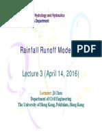 2016-04-14 Rainfall Runoff Modelling