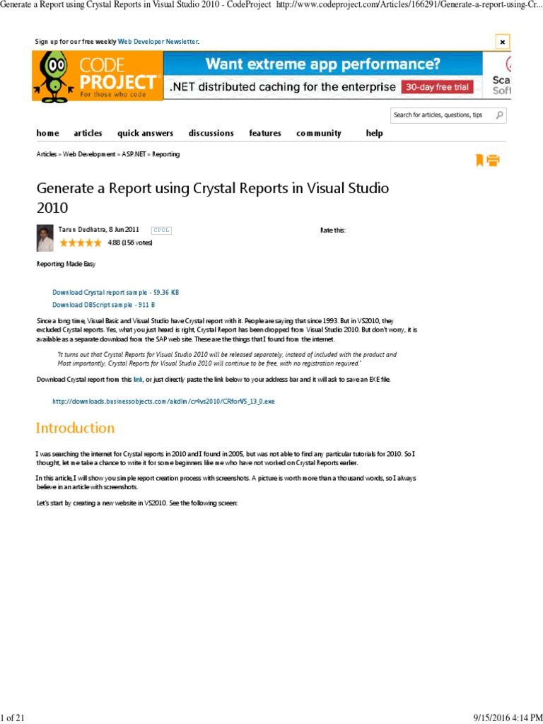 crystal reports 9 download free full version
