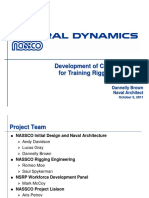 100411 Development of Course Material for Training Rigging Engineers Brown