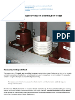 Electrical-Engineering-portal.com-Measurement of Residual Currents on a Distribution Feeder