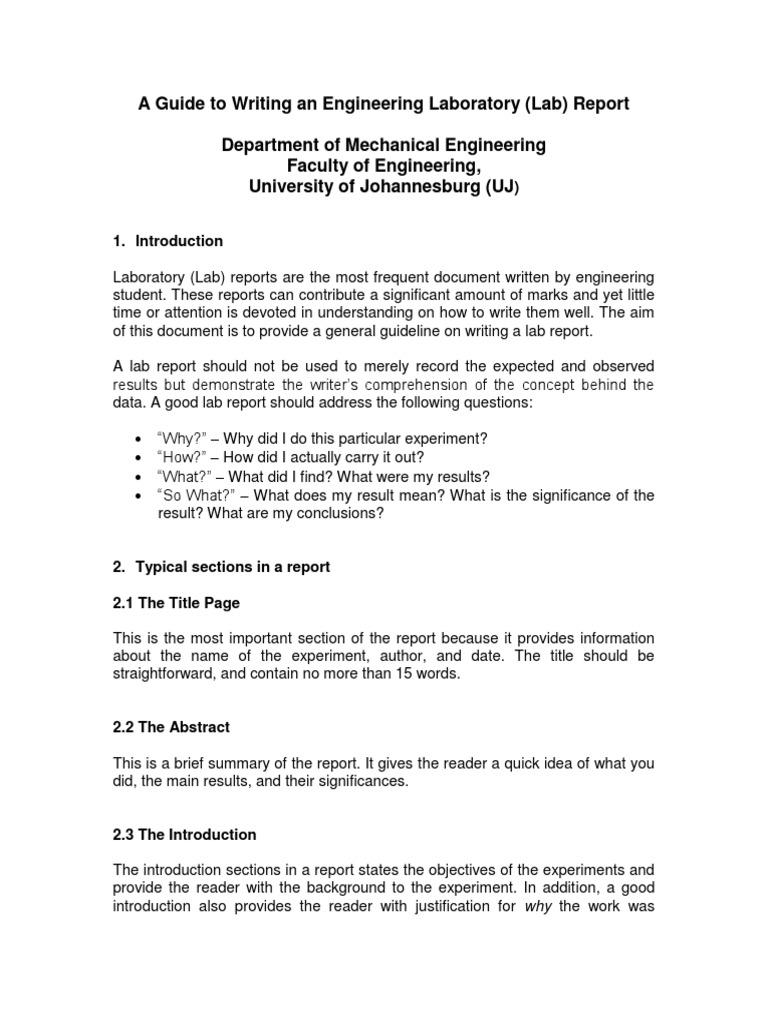 Basic Lab Report Template from imgv2-1-f.scribdassets.com