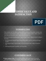 Customer Value & Satisfaction