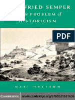 Gottfried Semper and the Problem of Historicism - M. Hvattum (2004)