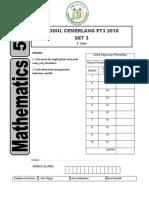 Matematik Modul Cemerlang PT3 2016 Set 3 JPPP Soalan