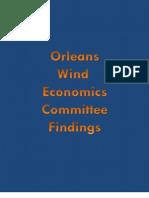 Final Wind Economics Committee Report