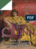 Julia Quin Din Vina Domnișoarei Bridgerton MM