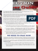 Election Prayer Guide for USA
