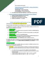 PMP - Metodos de seleccion de un Proyecto