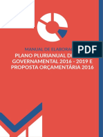 Manual Revisão PPAG 2016-2019 LOA 2016 II Reduzida
