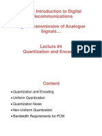 TE312 Lecture 4 Quantization & Encoding