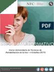 Curso Universitario de Técnicas de Rehabilitación de la Voz + 4 Créditos ECTS