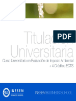 Curso Universitario en Evaluación de Impacto Ambiental + 4 Créditos ECTS