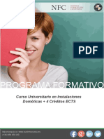 Curso Universitario en Instalaciones Domóticas + 4 Créditos ECTS
